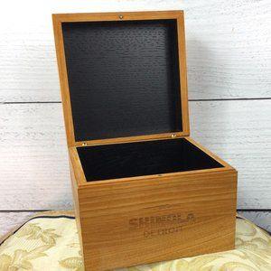 Shinola Detroit Wooden Watch Box